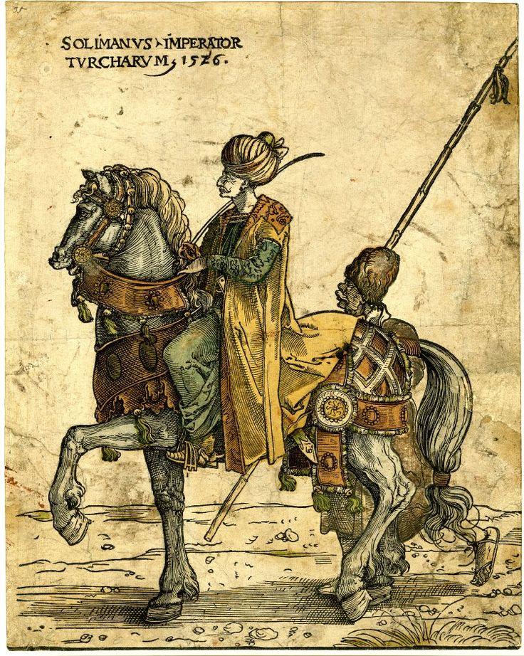 SOLIMANVS . IMPERATOR . TVRCHARVM, 1526 by Jan Swart van Groningen