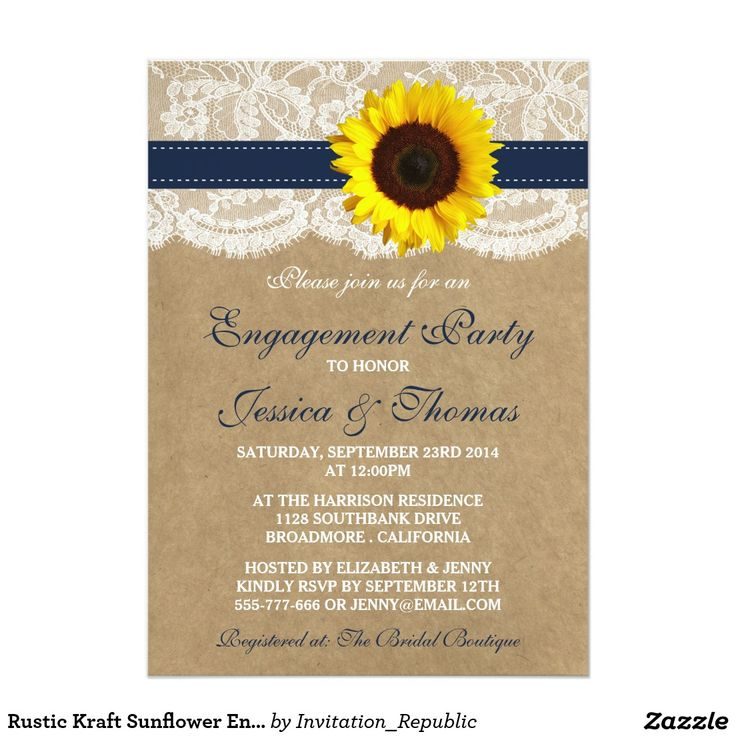 654 best Engagement Party Invitations images on Pinterest ...