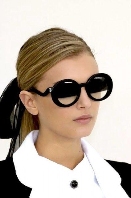chanel sunglasses pearls cat eye  - Bergdorf $650