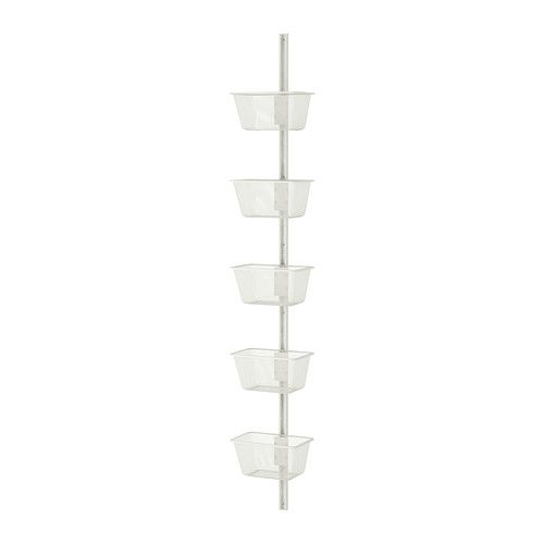 ALGOT Wall upright and basket - IKEA