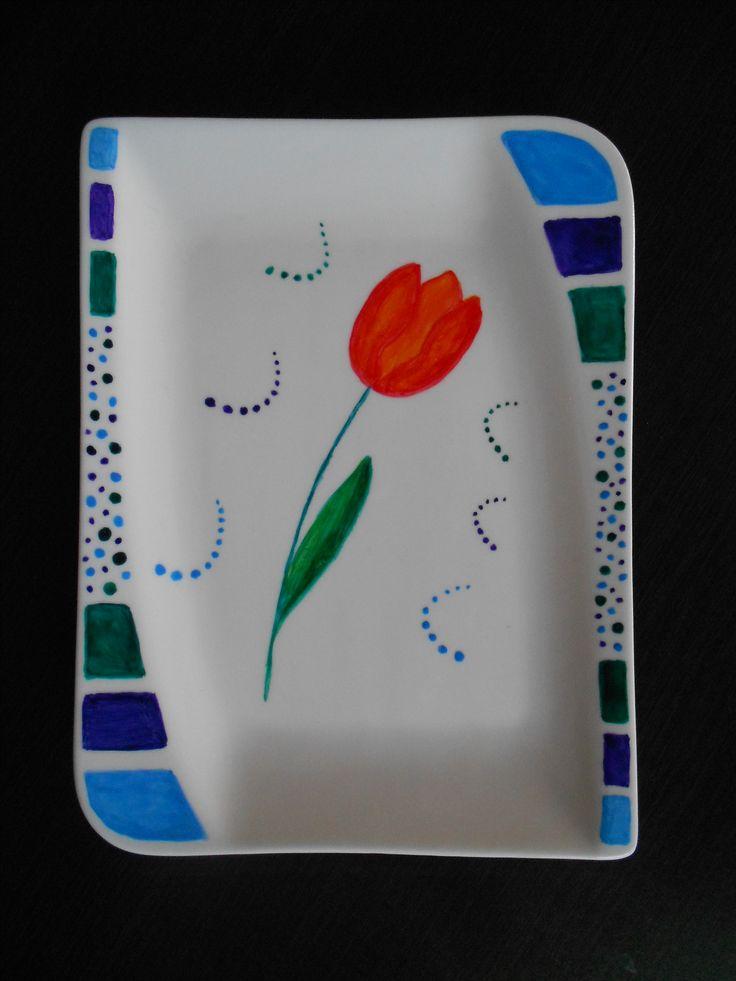 Han painted plate