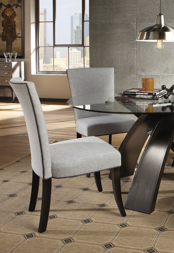 Brynwood white 5 pc round dining set dining room sets colors - Del Mar Ebony 5 Pc Round Dining Set Find Affordable Dining Room Sets For Your Home That Will Complement The Rest Of Your Furniture