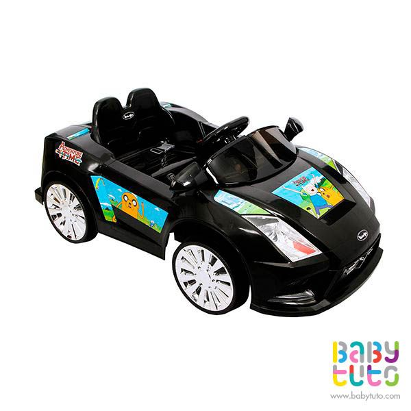 Auto a batería Lamborghini hora de aventuras color negro, $169.990 (precio normal). Marca Bebegló: http://bbt.to/1yVtpNF