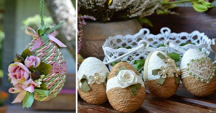 Káprázatos húsvéti dekorációk, amelyeket egy szempillantás alatt el is készíthetsz!