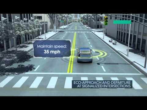 "USDOT Connected Vehicle: The Future of Transportation [video] (from ITStv, the official video channel of the U.S. Department of Transportation's ITS Joint Program Office (ITS JPO). ""The USDOT's ITS program focuses on intelligent vehicles, intelligent infrastructure and the creation of an intelligent transportation system through integration with and between these two components."")"