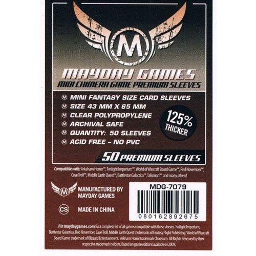 Mayday Games Mini Chimera Premium Card Sleeves 43x65mm (50 Pack)