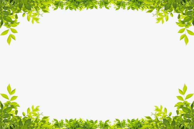 Leaf Frame Up And Down Green Up Down Green Clipart Leaves Clipart Border Clipart Leaf Border Powerpoint Background Free Clip Art Borders