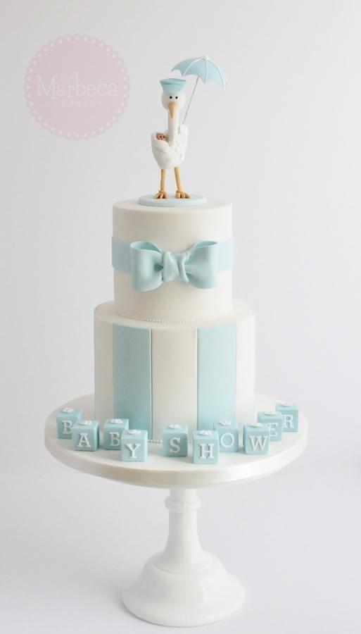 Cake Boss Stork Baby Cake