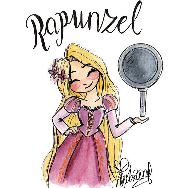 Who Else Finds It Absolutely Amazing That Rapunzel Uses A Frying