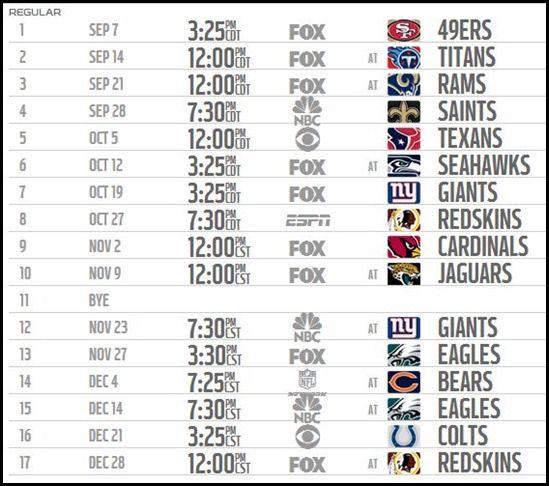 2014 2015 Dallas Cowboys schedule 2014 2015 - Print 2014 2015 Dallas Cowboys schedule 2014 2015 Print - The Boys Are Back website