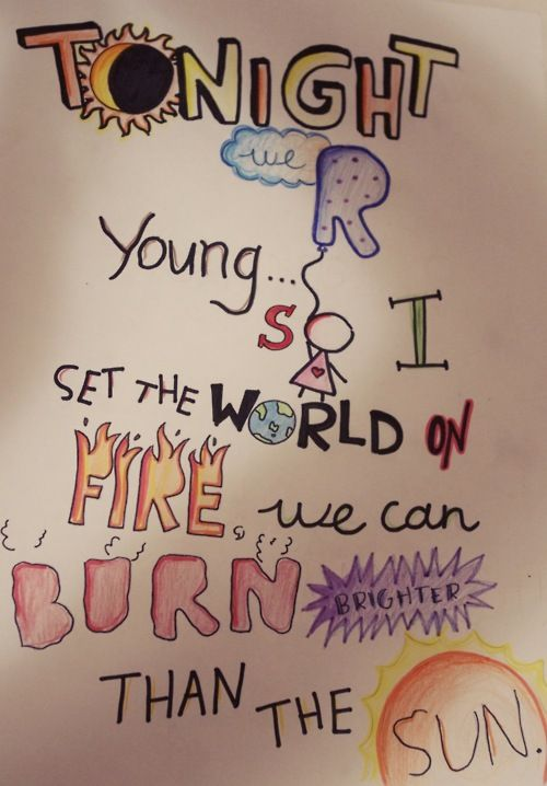 we are young <3