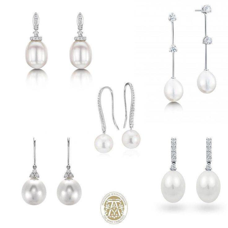 We are really loving #peals this month! Here is a selection of #gorgeous pearl drops for you to choose from...