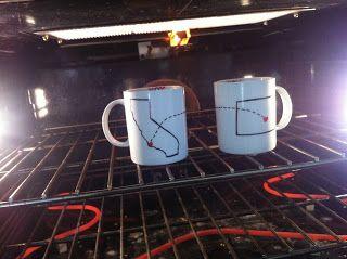 how to make long distance friendship mugs http://a-long-distance-love.blogspot.com/2013/02/diy-coffee-mugs.html