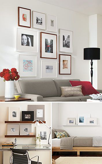 246 best Home Photo Wall Display images on Pinterest   Photo walls ...