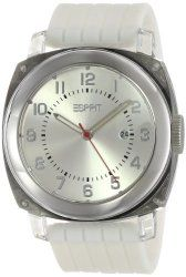 ESPRIT Unisex ES900631001 White Cube Classic Fashion Analog Wrist Watch