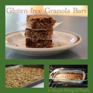Recipe Box - Gluten-free Granola Bars | Recipes | Pinterest