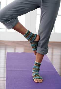 Knit Yoga Socks mi próximo proyecto jejeje