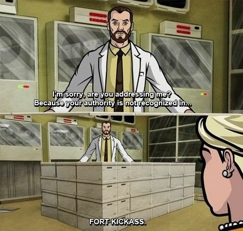 Archer FX seriously Krieger is one of my favorites on this awesome show