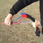 How to pack your power of traction kite!