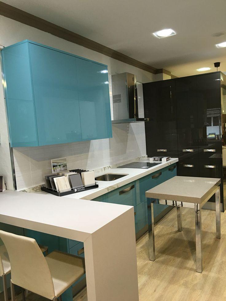 Luxe by alvic combinado con alto brillo ar muebles de for Muebles de exposicion baratos