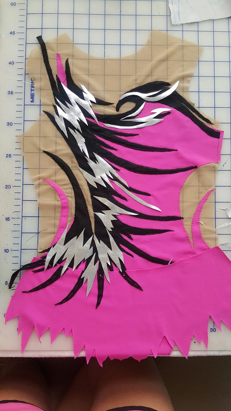 Working on a new leotard for etsy ShimmeringLeotards shop