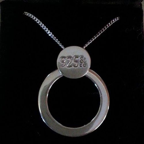 The Circle of Love, Mother's Edition: This beautiful sterling silver pendant has a gorgeous inscription on the on the back 'Children are the anchors of a Mothers life', and there is space to personalise it by engraving the name of loved ones on the front.  Our special price of just AU$165 includes 2 names of your choice stamped on the front, and a quality 925 sterling silver flat 20 inch chain!