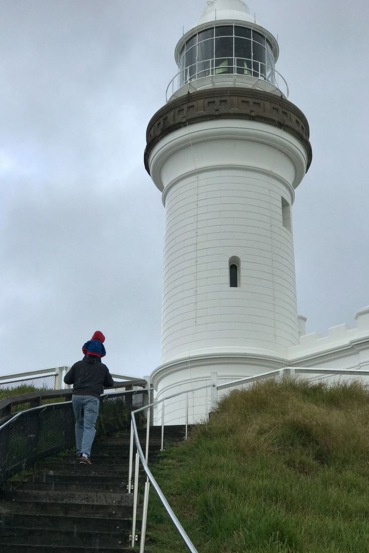 Cape Byron Lighthouse is one of the many beautiful spots in Byron Bay to take your child. Click to see the rest!