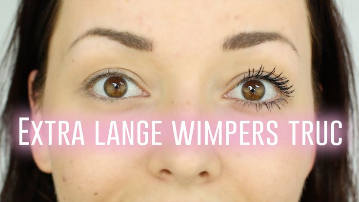 Extra lange wimpers truc | Beautygloss