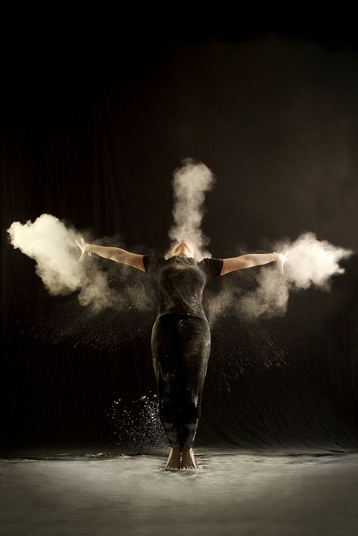Explosions of Powder Echo Dancers' Powerful Movements - My Modern Metropolis