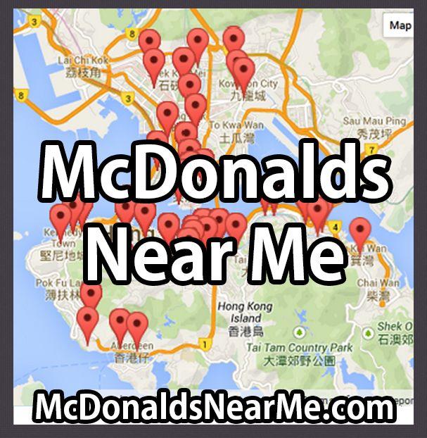 McDonalds Near Me | McdonaldsNearMe.com #mcdonalds
