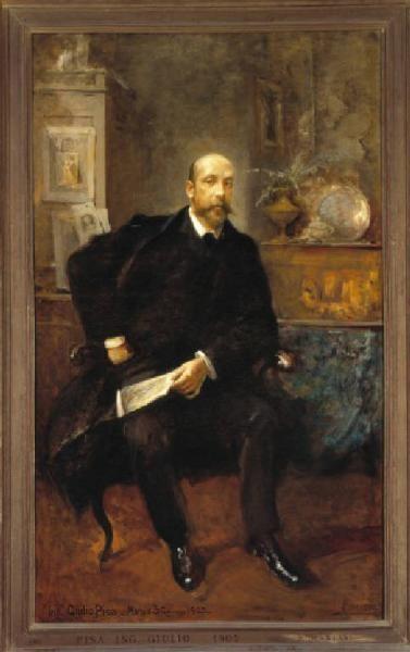 POMPEO MARIANI: Giulio Pisa, collezionista d'arte (1907)