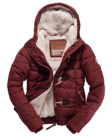 Superdry Sports Toggle Puffer - Women's Jackets & Coats