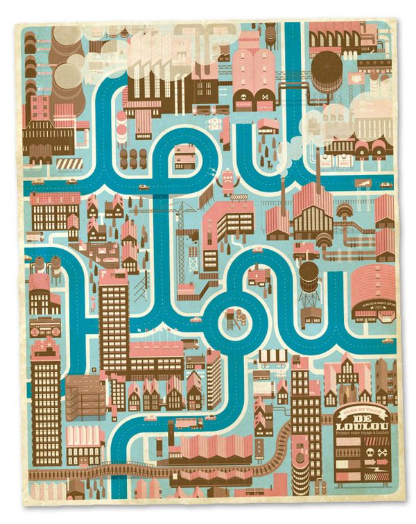 city-map-design-poster