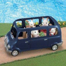 Sylvanian Families - Rodinné auto modré