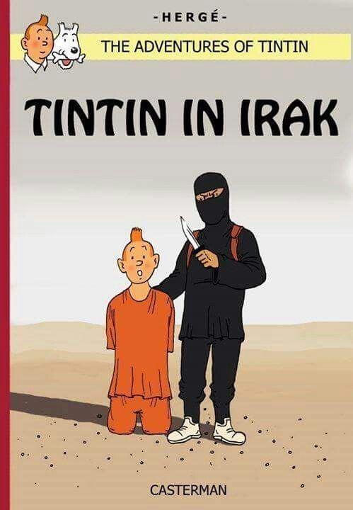 Je suis Tintin.