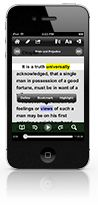 Voice Dream iOS app can extract text from PDF, ePub, Word, and Text files in Dropbox, Google Drive or on your device. Listen to your Pocket or Instapaper reading list. Read books from Gutenberg and Bookshare.
