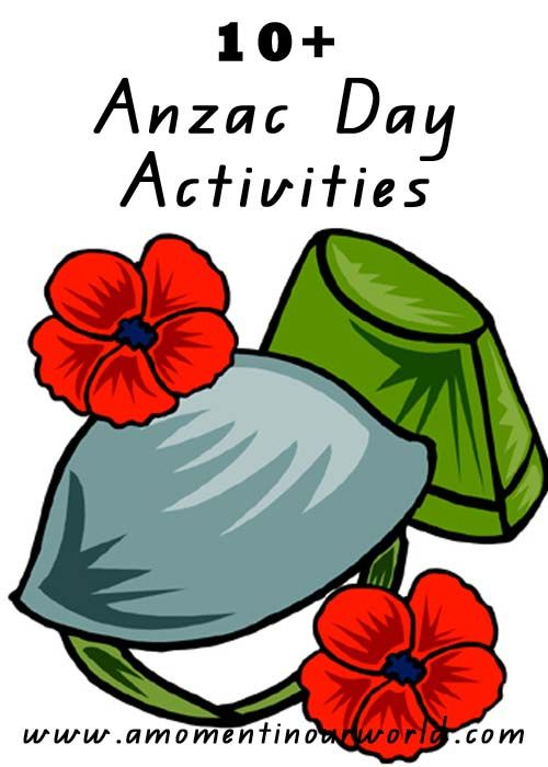 10+ Activities to help commemorate this important day in Australian history - Anzac Day.