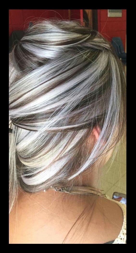 Pin Von Nadine Wickert Auf Frisuren Und Haarfarben Graue