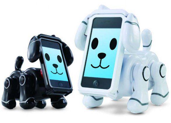 SmartPet: cane robot iPhone