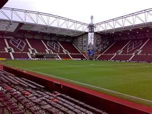 tynecastle stadium home of hearts fc