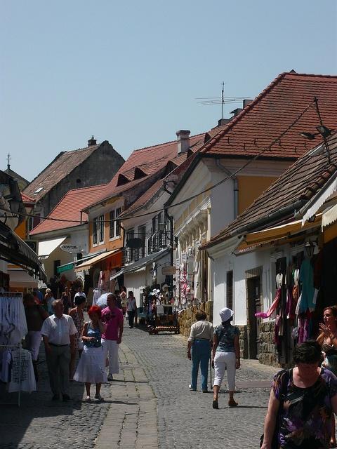 Szentendre downtown / Центъра на Сентендре, Hungary by mitko_denev, via Flickr