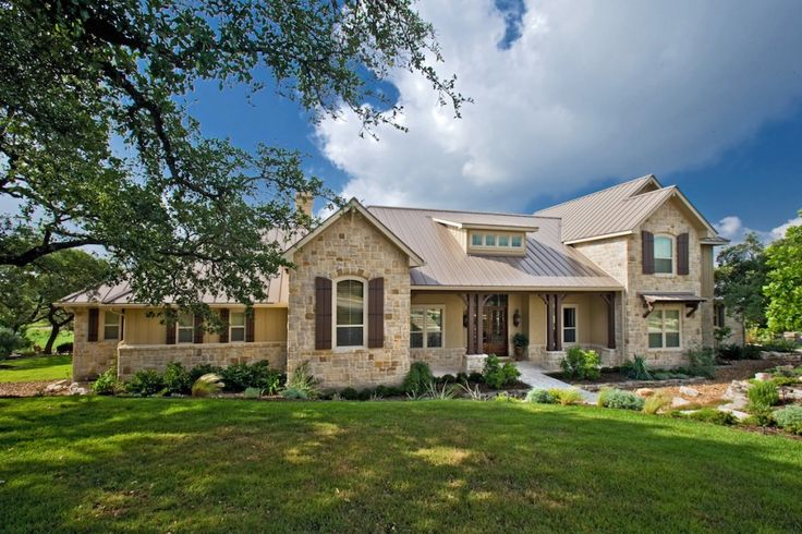 Texas hill country texas and custom homes on pinterest Country home builders in texas