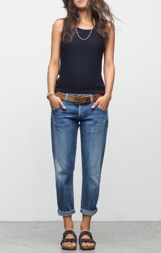 Skyler Low Rise Loose Crop | Citizens of Humanity ($229). 3