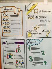 Vier Agenda-Beispiele
