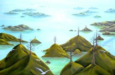 Artfind.co.nz - Artwork - One Tree Hills by StaceyO'Neill