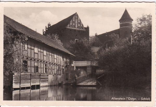 Allenstein (Olsztyn) -Schloß