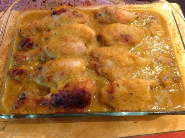 Receta de muslos de pollo al horno con cerveza