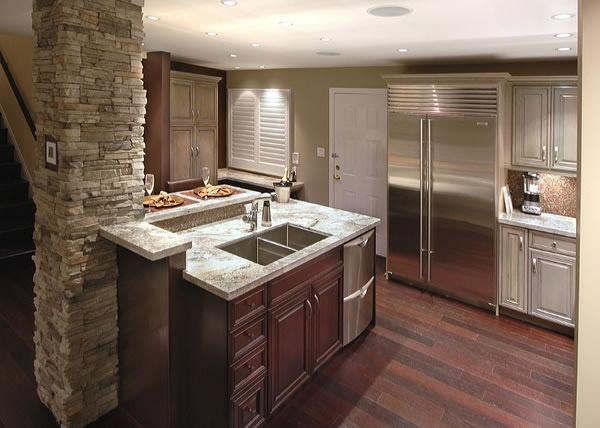 A man's #kitchen renovation. Georgie Finalist 2007 Sam Award Finalist 2007