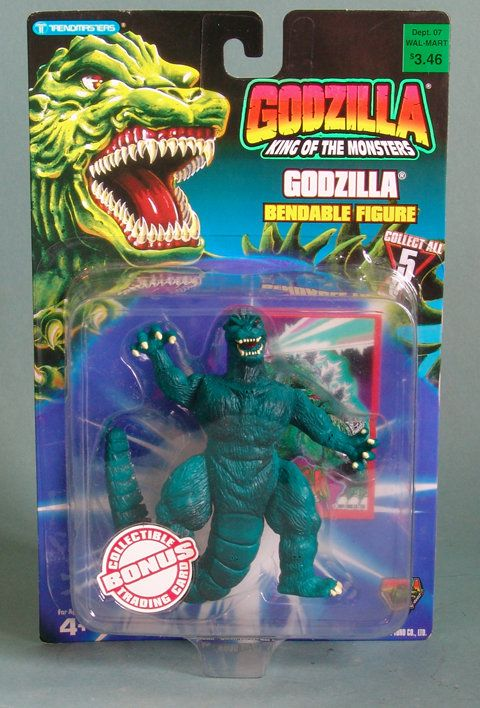 Godzilla Bendable Action Figure. This 5 inch tall action ...