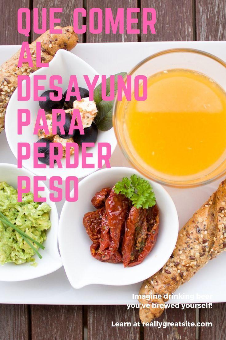Cual es el desayuno mas saludable para bajar de peso